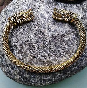 Japanese Gold Dragon Bracelet